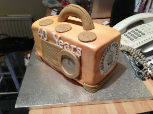 hhr cake for 40 years